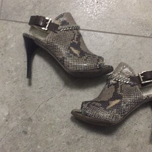 Michael Michael Korda super cool high heel booties